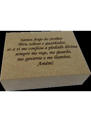 CAIXA JOIAS VAZADA ORAÇÃO 25X19X7CM