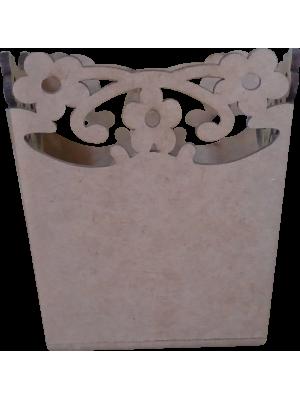 CACHEPO FLORAL GRANDE 12X12X12CM